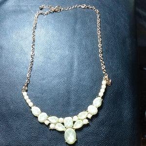 Frosted gem Necklace